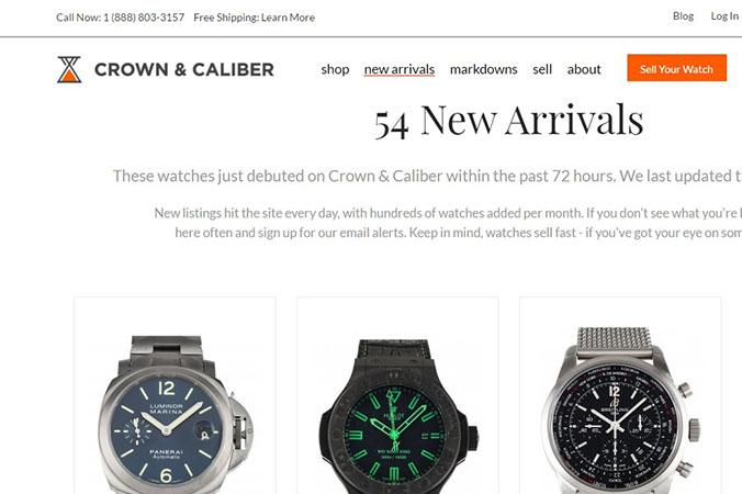 Buy Vintage Watches Online