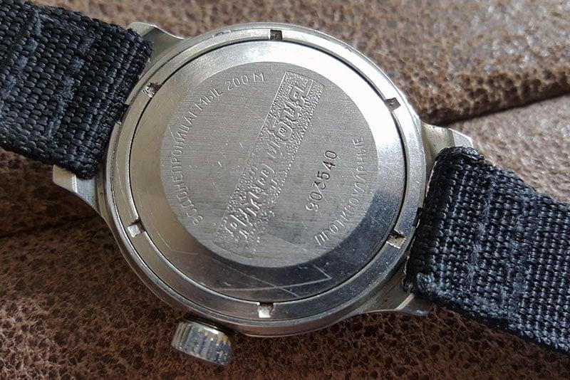 Vostok Amphibia, water resistant watch 200 meters