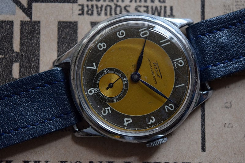 Tissot Antimagnetique jumbo with a Cal. 27
