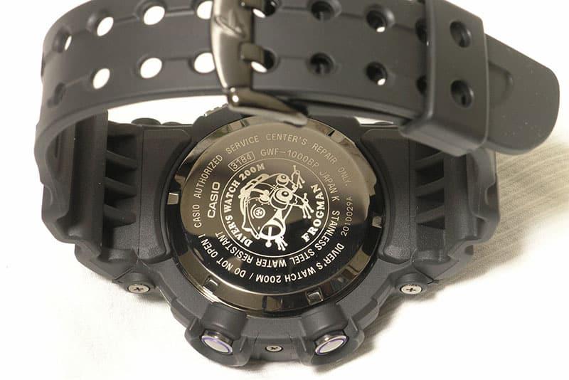Casio frogman, ISO certified diver's watch, water resistant 200 meters