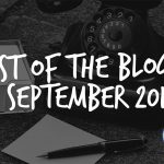 Best of the blogs September 2017