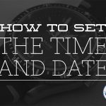 How to set the time and date of a mechanical watch