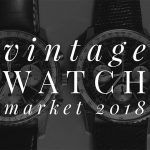 Vintage watch market