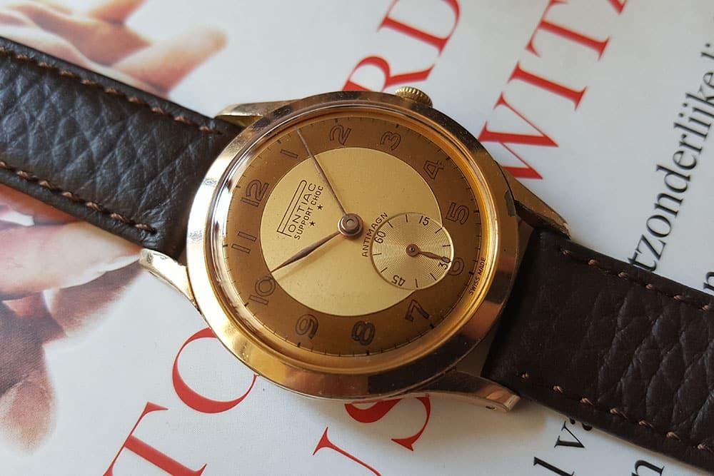 Pontiac dress watch with ETA 1260 movement