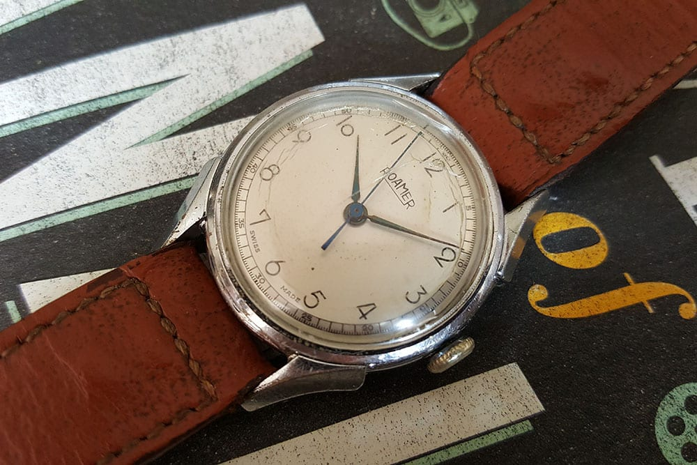 1940s Roamer dress watch with MST 372 movement