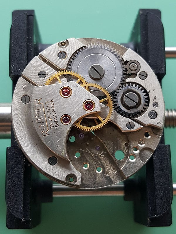 1940s Roamer watch with MST 372 movement