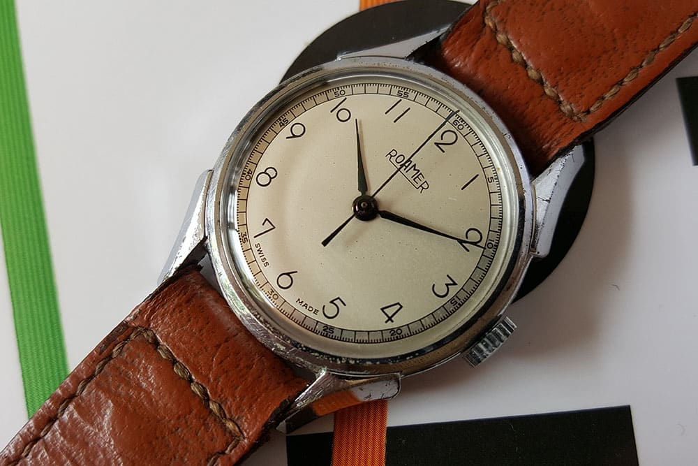 1940s Roamer with MST 372 movement