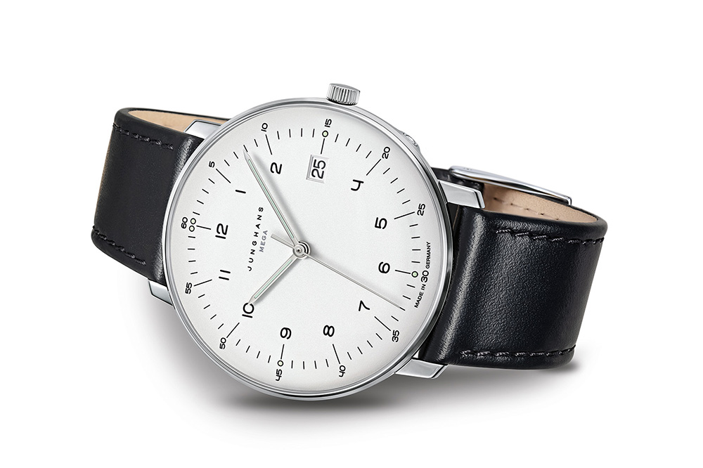 What watch to wear to a job interview - Junghans Max Bill MEGA