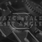 What is the lift angle of a watch?