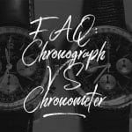 What's the difference between a chronographe and a chronometer?