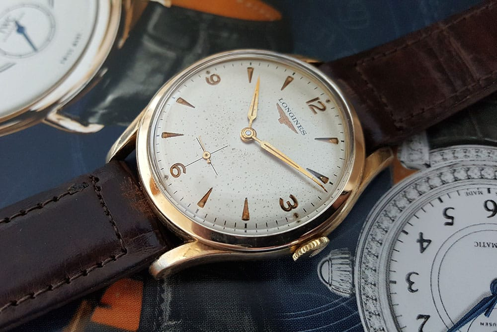Longines watch with a 12.68Z movement