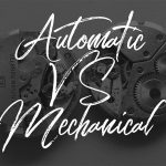 What's the difference between an automatic and mechanical movement