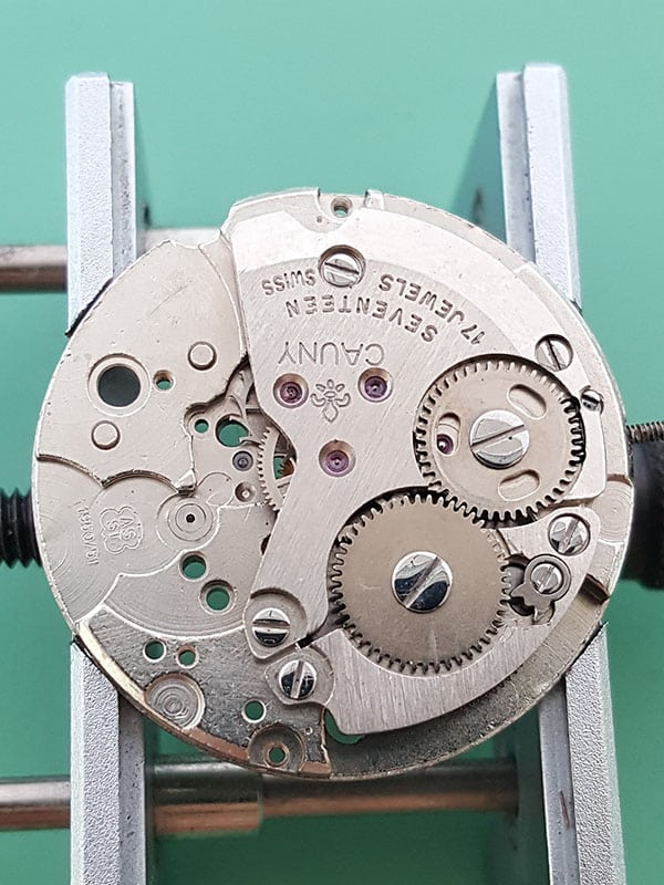 Cauny dress watch with AS 1950/1951 movement
