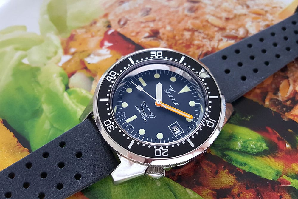 Squale with AR coating on both sides