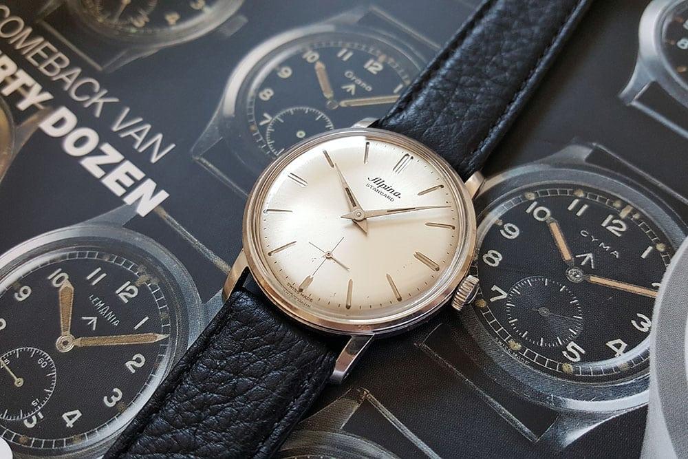 Alpina dress watch with Alpina 592 movement