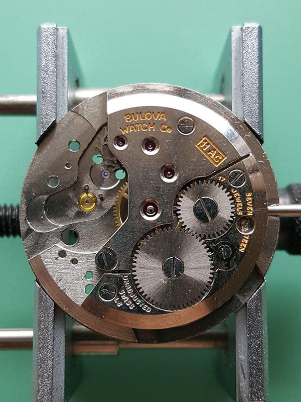 Bulova dress watch with Bulova 11AC movement