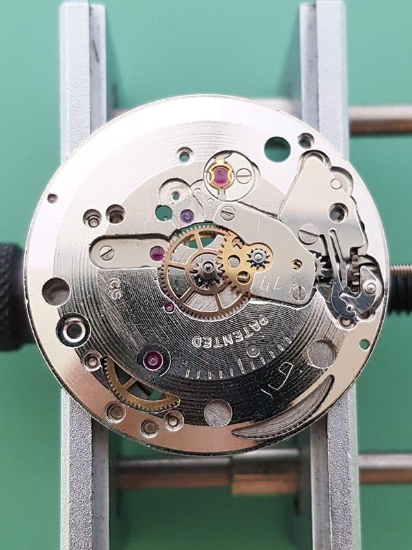 Pontiac dress watch with ETA 2390 movement