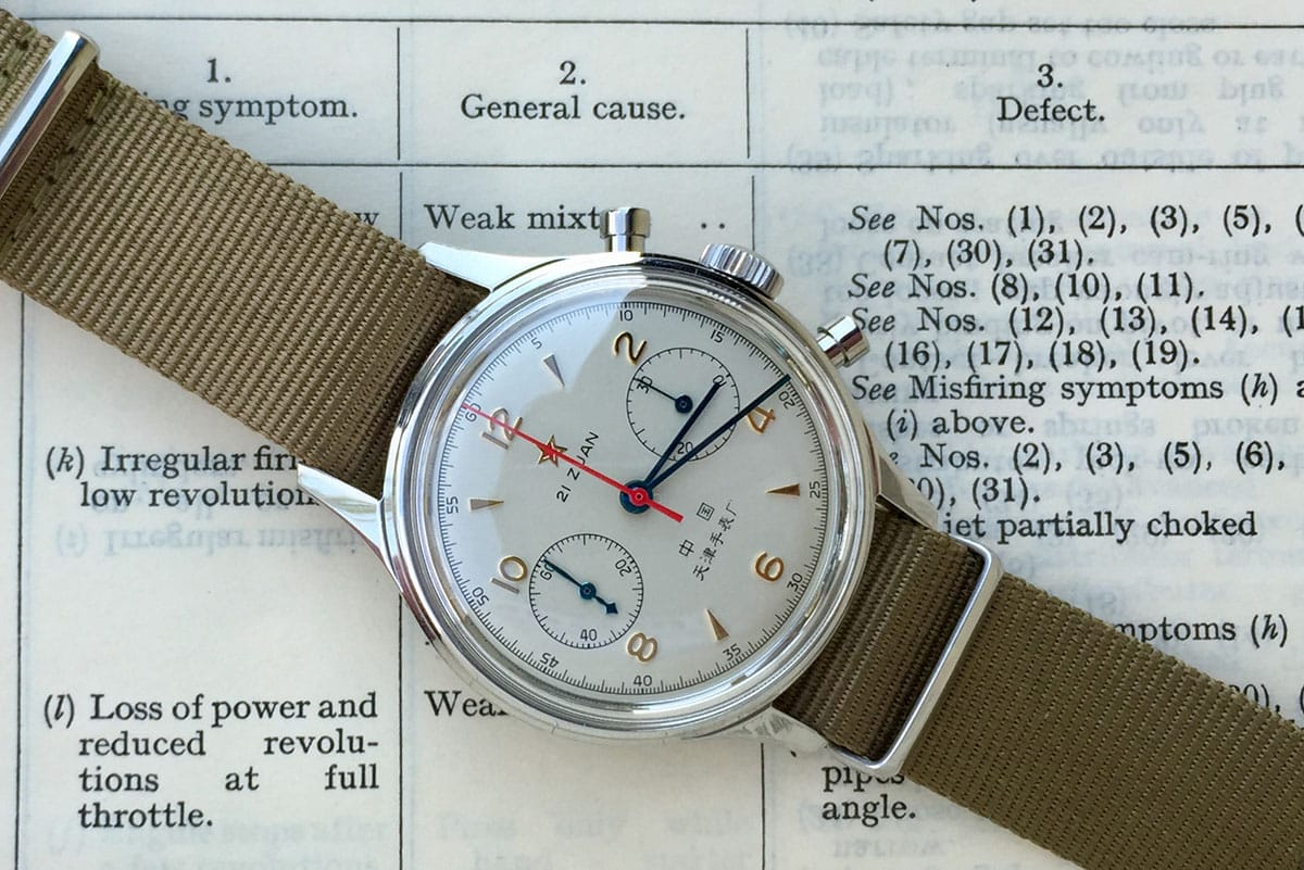 Review Seagull 1963 chronograph