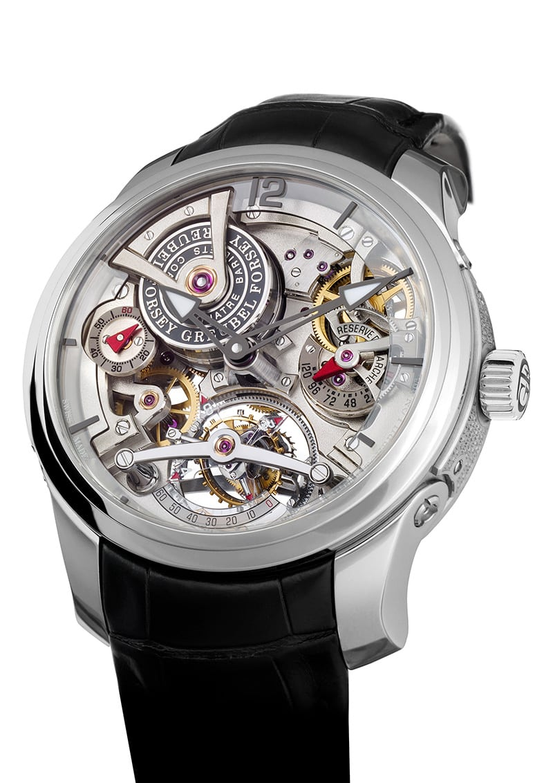 Useless complications tourbillon