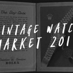 Vintage watch market 2019