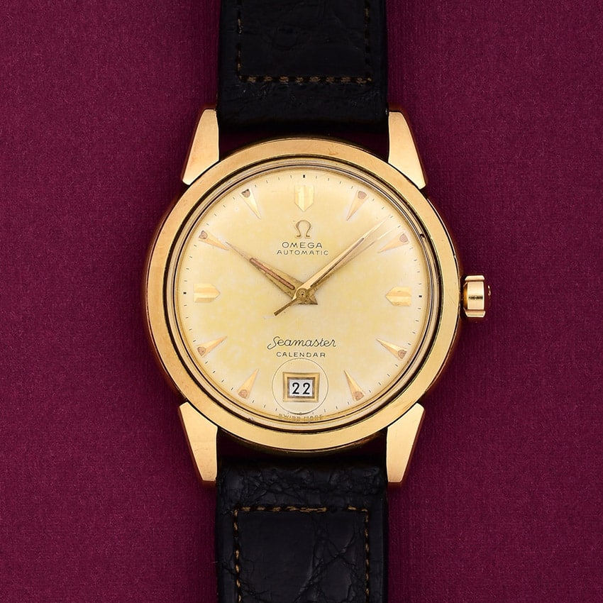 Omega 14 Karat yellow gold