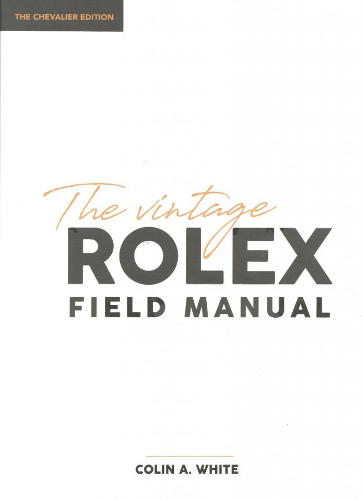 Vintage Rolex Field Manual Front