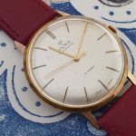 Onsa dress watch with an FHF 72 movement