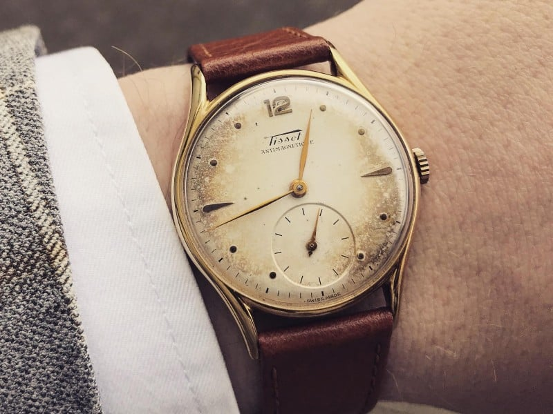 Why a large watch collection is better - Tissot Antimagnetique
